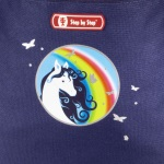 Step by Step Pegasus Rainbow Motiv Darstellung