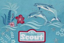 Scout Happy Dolphins Motiv Darstellung