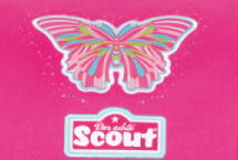 Scout Pink Butterfly Motiv Darstellung