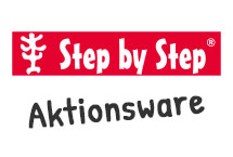 Step by Step Atkionsware Motiv Darstellung