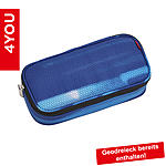 4YOU Pencil Case mit Geodreieck Shades Blue ansehen