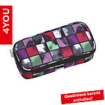 4YOU Pencil Case mit Geodreieck Squares Mint ansehen