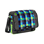 Coocazoo HangDang Schultertasche Shorty Limepunch, mit Laptopfach