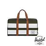 Herschel Novel Duffle Forest Night White Rugby Stripe Sporttasche ansehen