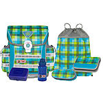 McNeill Ergo Light 912 Schulranzen Set CARO green 6 tlg