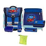 McNeill Schultasche Set Compact Fire Engine inkl. Regenschutzhülle