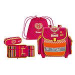 Der Ranzen Scout Pink Heart Buddy 4 tlg. Set inkl. Sportbeutel