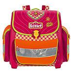 Scout Schulranzen Buddy Pink Heart - robuste Mädchen Schultasche