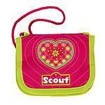 Scout Brustbeutel III Pink Heart - Geldbörse