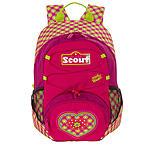 Scout Kinder Rucksack VI Pink Heart für Mädchen