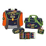 Scout Schulranzen Mega Set 5tlg Dino Expediton Exklusiv