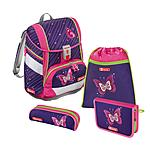 Step by Step 2in1 Shiny Butterfly 4 teiliges Schulrucksackset ansehen