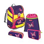 Step by Step 2in1 Shiny Butterfly DIN 4 teiliges Schulrucksackset ansehen