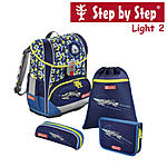 Step by Step Light 2 Space Pirate Schulranzen Set 4 tlg. ansehen