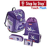 Step by Step Touch Flash Pegasus Purple, 5tlg Schulranzen Set ansehen