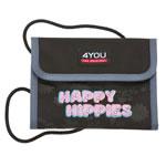4YOU Money Bag Happy Hippies Brustbeutel
