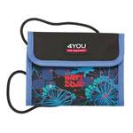 4 you Happy Blue Brustbeutel Money Bag