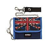 4YOU Kettenbörse II Britpop Union Jack 597-42