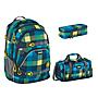 Coocazoo ScaleRale Lime District Schulrucksack Set 3tlg