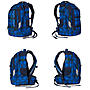 Alternativbild 2 zu Satch by Ergobag Schulrucksack Bluetwist, blau grau karo