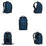 Alternativbild 1 zu Satch Pack Blue Compass Schulrucksack Set 4tlg