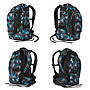 Alternativbild 2 zu Satch Pack Schulrucksack Ocean Flow, blau-graue Punkte