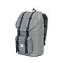 Alternativbild 2 zu Herschel Schulrucksack Little America Raven Crosshatch Black Rubber