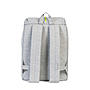 Alternativbild 1 zu Herschel Post Mid-Volume Light Grey Crosshatch Light Grey Rubber