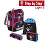 Step by Step Light2 Popstar, 4 tlg Schulranzen Set