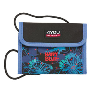 4 you Happy Blue Brustbeutel Money Bag