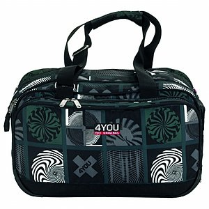 4YOU Sportbag Sporttasche Advance Circles