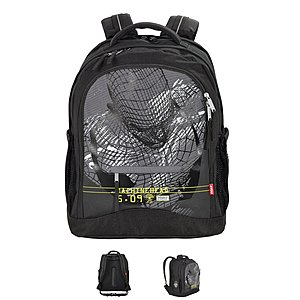 4YOU Flash Rucksack Compact Robot, inkl Laptopfach