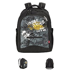 4YOU Flash Rucksack Compact Under Ground, inkl Laptopfach