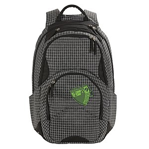 4YOU Flash Rucksack Flow Checker Black 713
