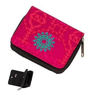 4YOU Flash Zipper Wallet 598 Ikat, Geldbörse
