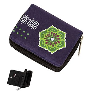 4YOU Flash Zipper Wallet Ornaments Ethno 599, Geldbörse