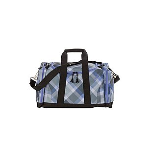 4YOU Igrec Sportbag M Checker grey violet Sporttasche