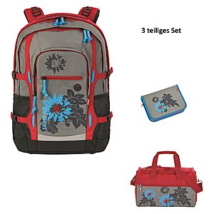 3c6dbd0c16fe3 4YOU Jampac Garden Schulrucksack - Set 3tlg.