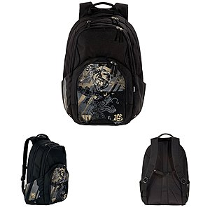 4YOU Leichter Trend Rucksack Flow Far East Drache Farb Nr. 437