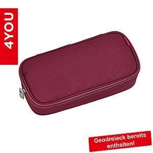 4YOU Pencil Case Zigzag Berry