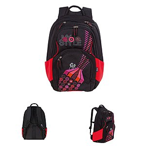4YOU Schulrucksack Flow Seventies Flash 779