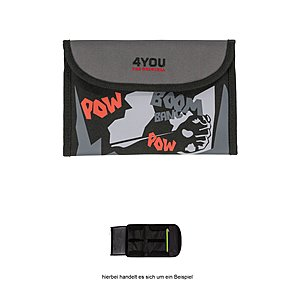 4YOU Soft Etui 765 Comic mit Klettverschluss