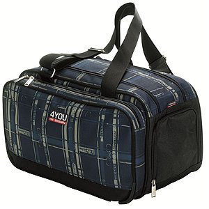 4YOU Sportbag Advance Checkers Blue