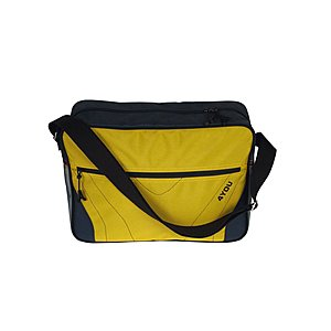 4YOU Umhängetasche Reporterbag Sportive Yellow