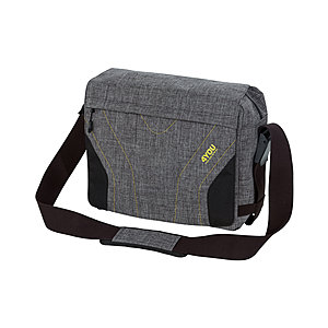 4You Igrec Messengerbag 109, mit Laptopfach Grey Yellow Zipper
