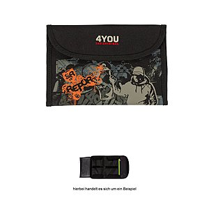 4you Soft Etui Grafitti mit Klettverschluß 767