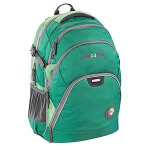 Coocazoo EvverClevver Rucksack Green Spring mit Laptopfach