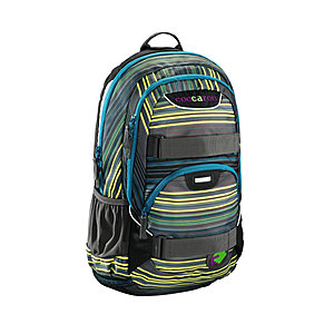 Coocazoo RayDay Rucksack Light in the Dark 25 Liter, mit Laptopfach