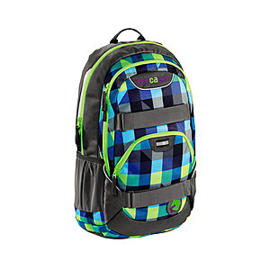 Coocazoo RayDay Rucksack Shorty Limepunch 25 Liter, mit Laptopfach