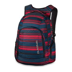 Dakine 29 Liter Laptop Rucksack 101 Pack Mantle, blau rot gestreift